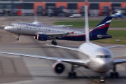 VP-BWH - Aeroflot Airbus A320 aircraft