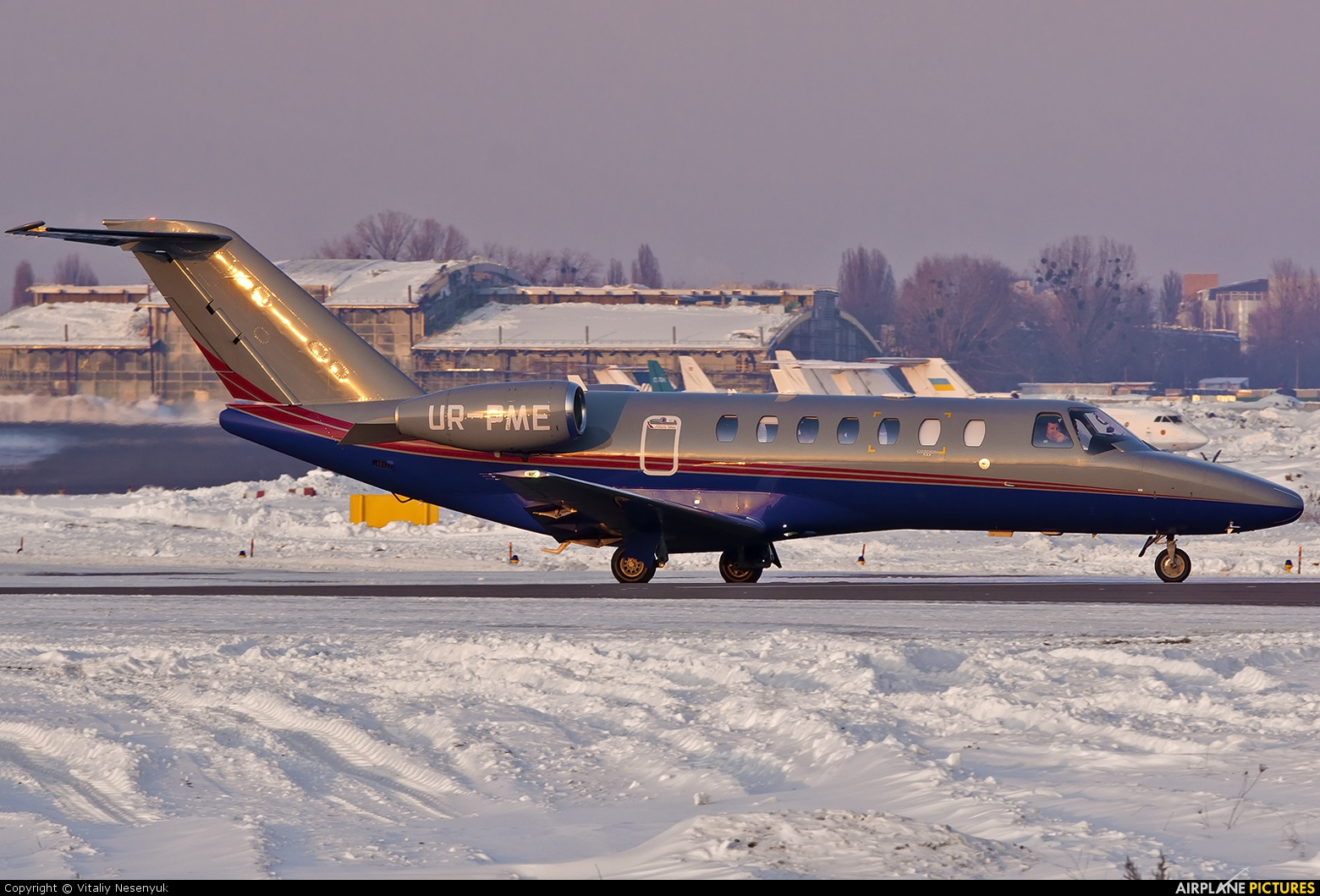 Private UR-PME aircraft at Kiev - Zhulyany