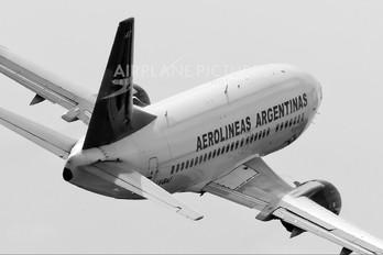 LV-BAT - Aerolineas Argentinas Boeing 737-500