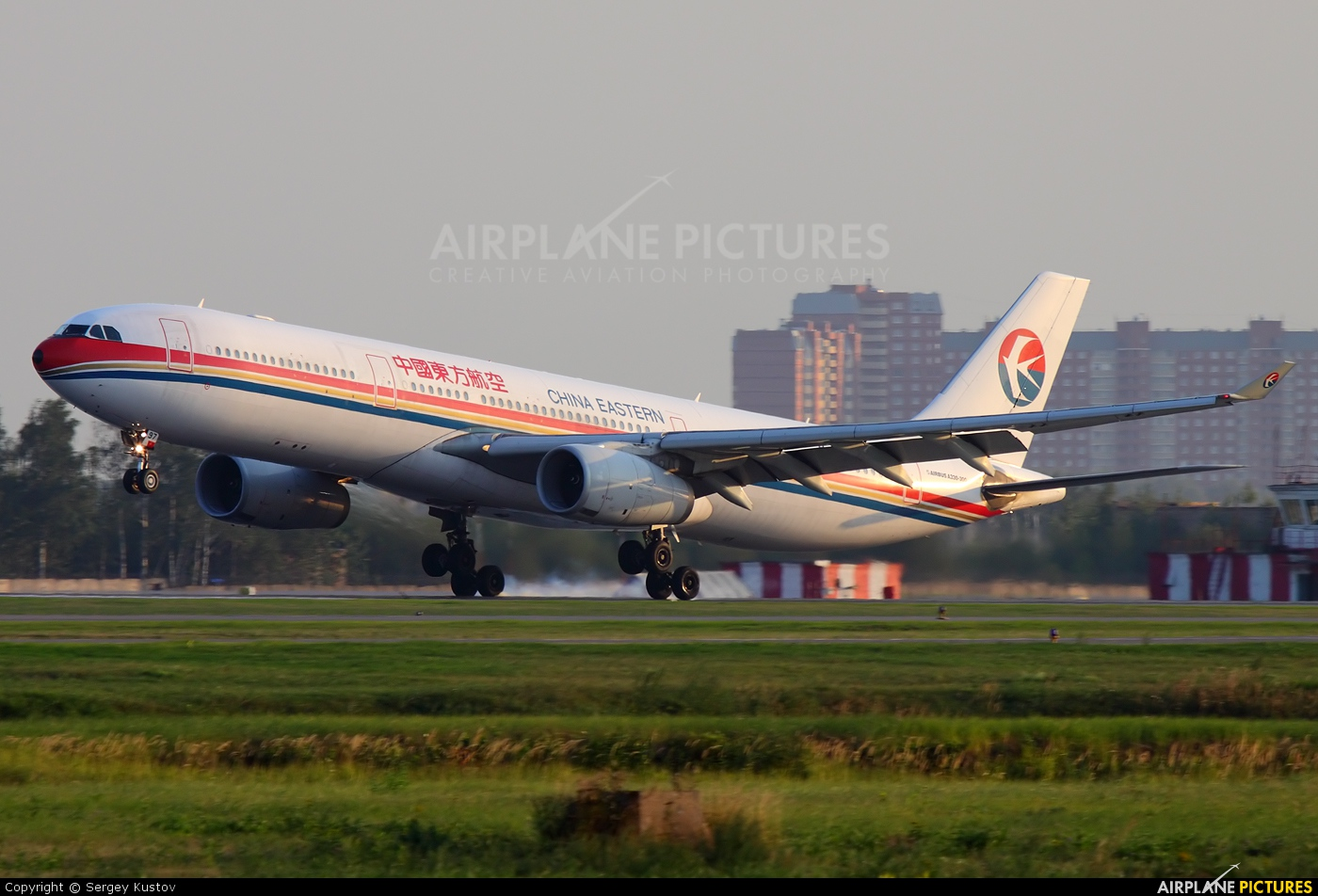 China Eastern Airlines B-6097 aircraft at Moscow - Sheremetyevo