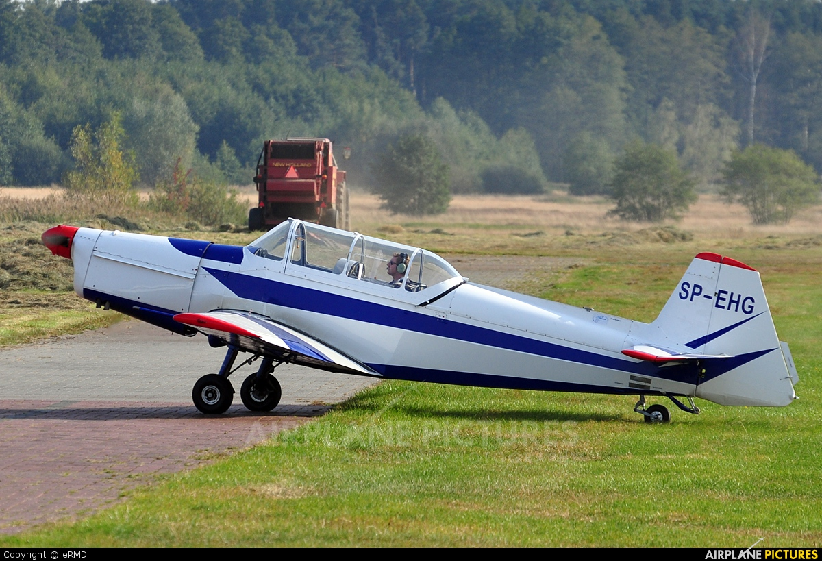 Private SP-EHG aircraft at Radom - Piastów