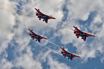 """- - Russia - Air Force """"Strizhi"""" Mikoyan-Gurevich MiG-29"""