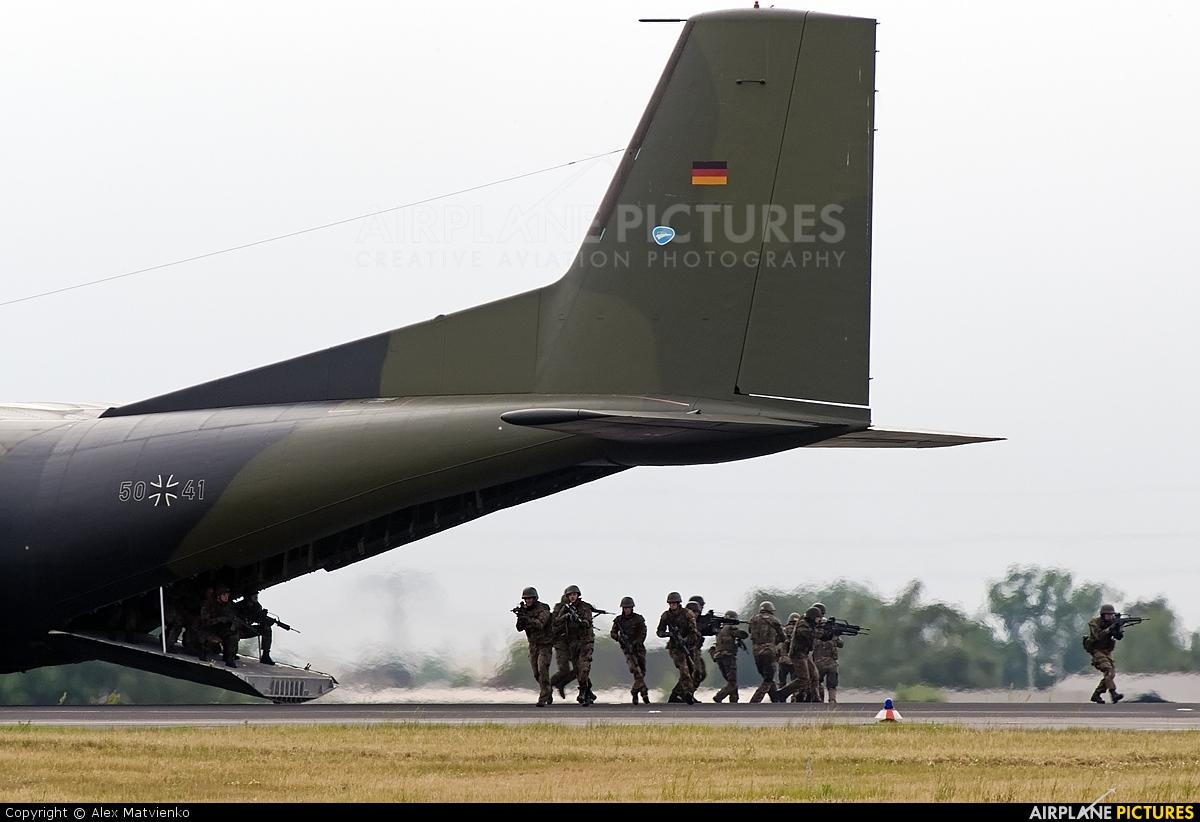 Germany - Air Force 50+41 aircraft at Berlin - Schönefeld