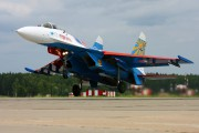 "08 - Russia - Air Force ""Russian Knights"" Sukhoi Su-27 aircraft"