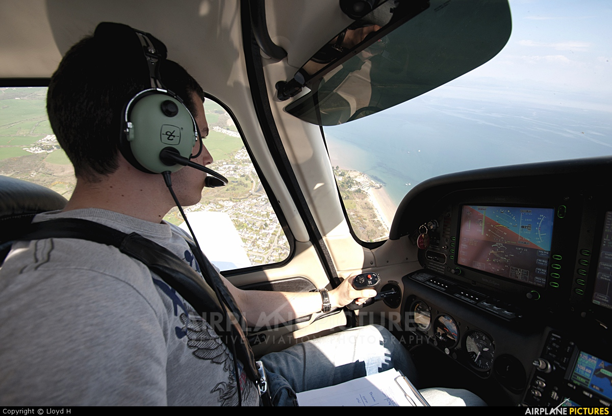Private G-CDXK aircraft at In Flight - Wales
