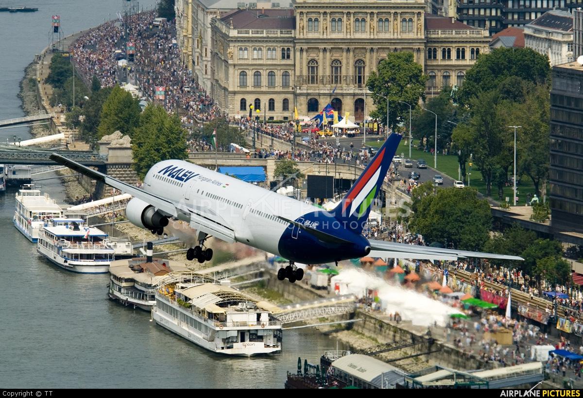 Malev HA-LHC aircraft at Off Airport - Hungary
