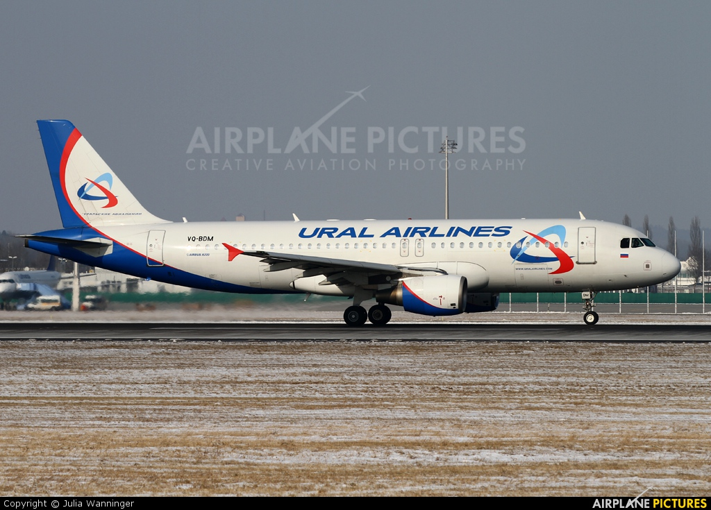 Ural Airlines VQ-BDM aircraft at Munich
