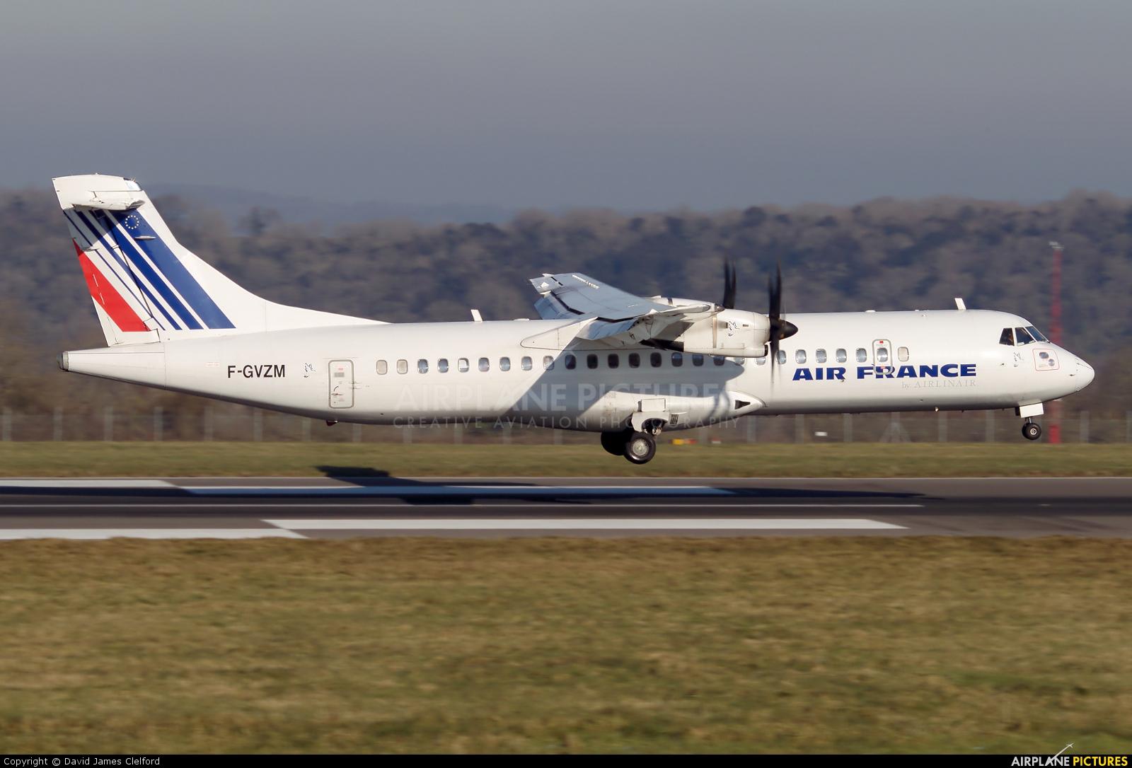 Air France - Airlinair F-GVZM aircraft at Bristol - Lulsgate