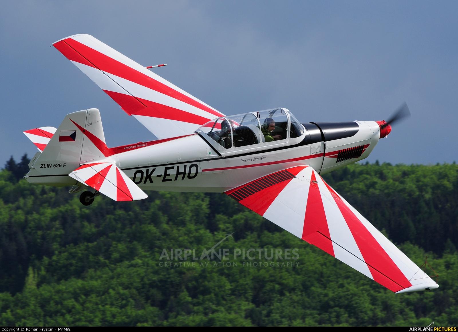 Aeroklub Hranice OK-EHO aircraft at Hranice