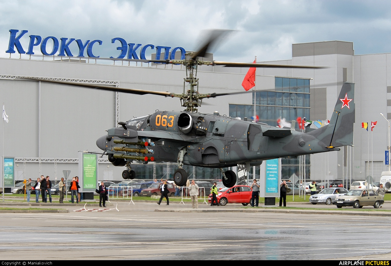 Russia - Air Force 063 aircraft at Off Airport - Russia