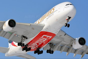 A6-EDR - Emirates Airlines Airbus A380