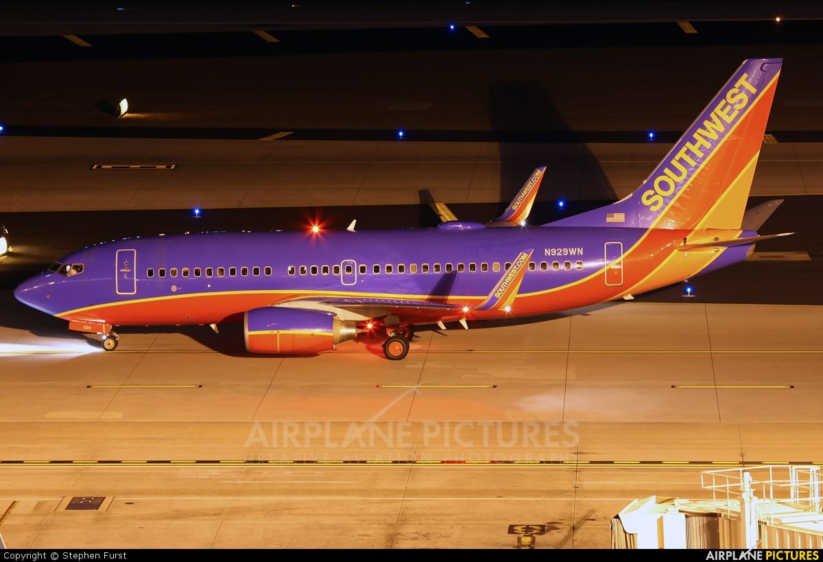Southwest Airlines N929WN aircraft at Phoenix - Sky Harbor Intl