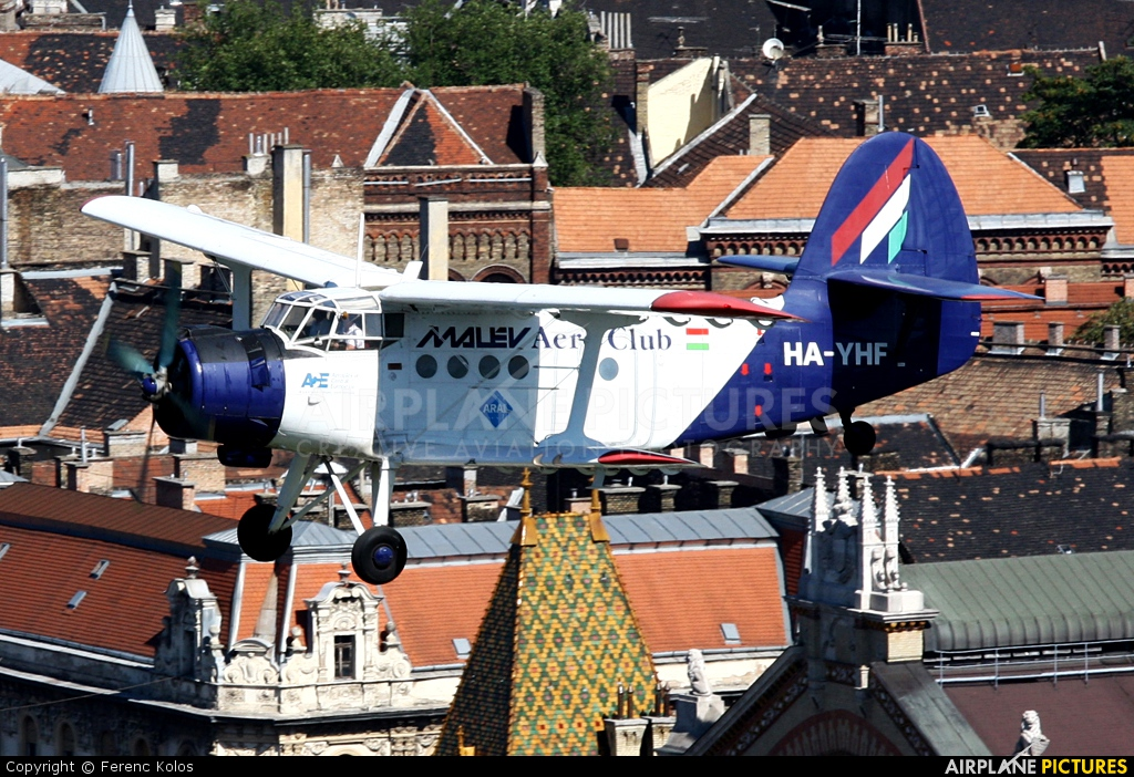 Malév Aero Club HA-YHF aircraft at In Flight - Hungary