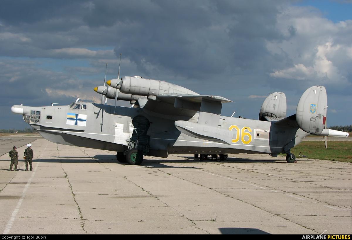 Ukraine - Navy 06 aircraft at Saki - Novofedorovka