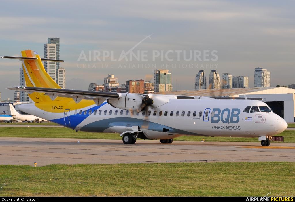 BQB Lineas Aereas CX-JCL aircraft at Buenos Aires - Jorge Newbery