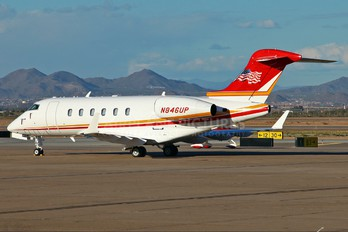 N846UP - Private Bombardier BD-100 Challenger 300 series
