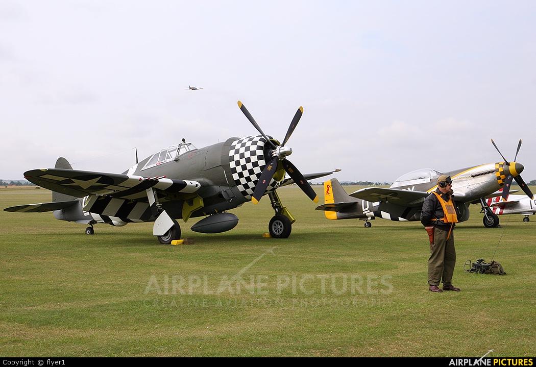 Patina G-CDVX aircraft at Duxford