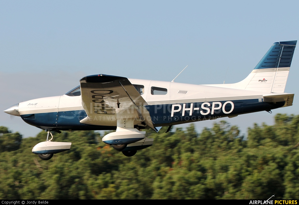 Private PH-SPO aircraft at Hoeven - Seppe