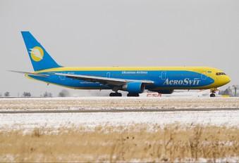UR-AAG - Aerosvit - Ukrainian Airlines Boeing 767-300ER