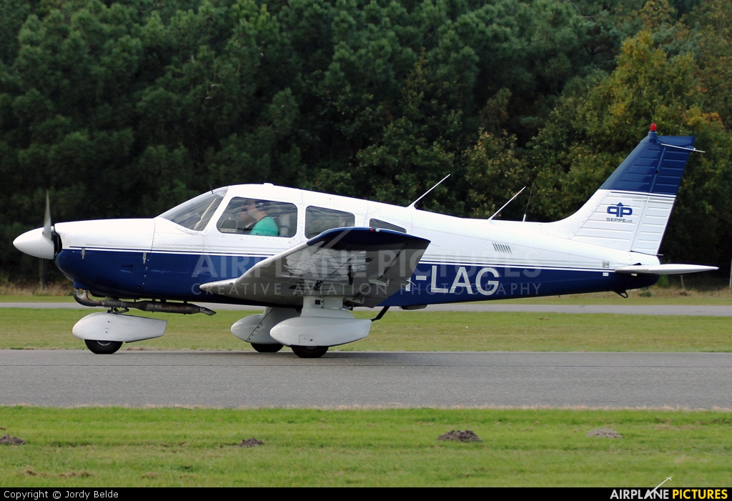 Private PH-LAG aircraft at Hoeven - Seppe
