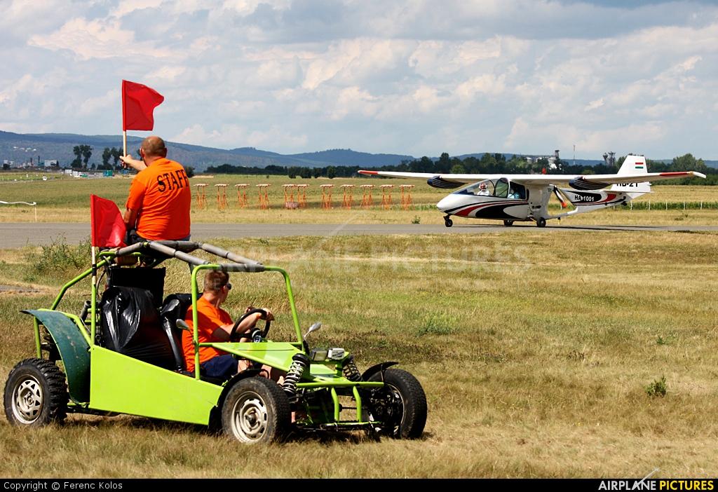 Private HA-1001 aircraft at Pecs-Pogany