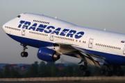 VP-BQE - Transaero Airlines Boeing 747-200 aircraft