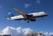N521JB - JetBlue Airways Airbus A320 aircraft
