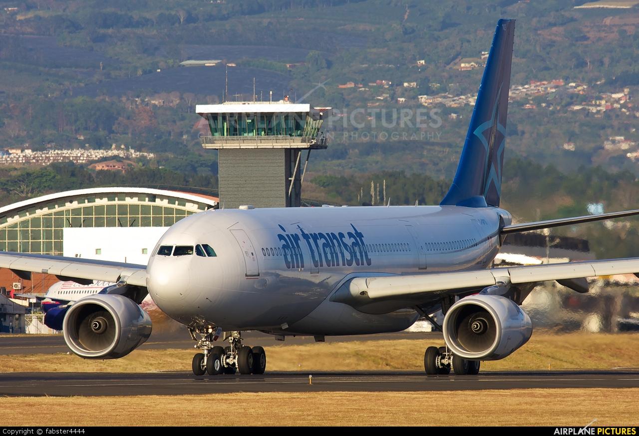 Air Transat C-GPTS aircraft at San Jose - Juan Santamaría Intl