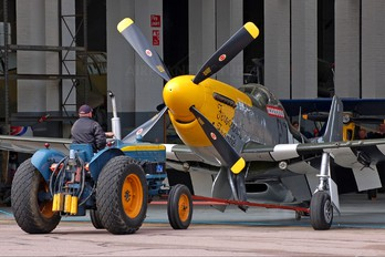 G-DTCD - Private North American P-51D Mustang