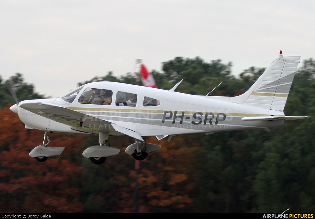 Private PH-SRP aircraft at Hoeven - Seppe