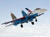 """16 - Russia - Air Force """"Russian Knights"""" Sukhoi Su-27 aircraft"""