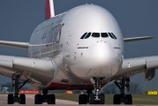 A6-EDN - Emirates Airlines Airbus A380 aircraft