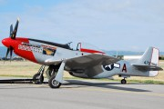 N151DM - Private North American P-51D Mustang aircraft