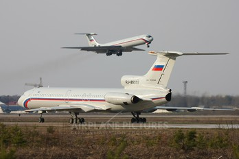 RA-85555 - Russia - Air Force Tupolev Tu-154B