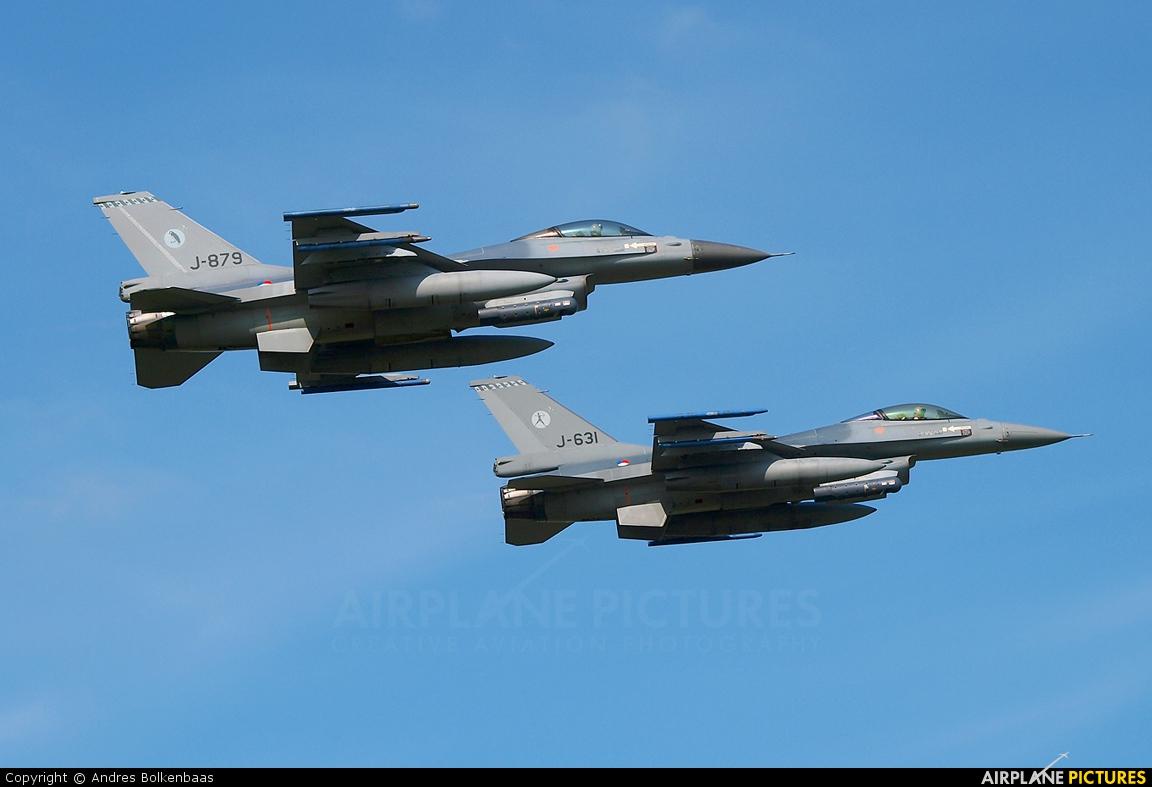 Netherlands - Air Force J-879 aircraft at Leeuwarden