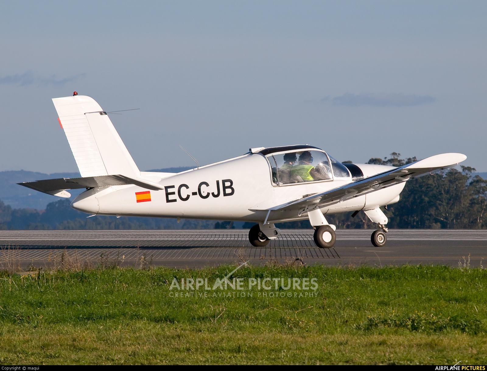 Real Aero Club de La Coruña EC-CJB aircraft at La Coruña