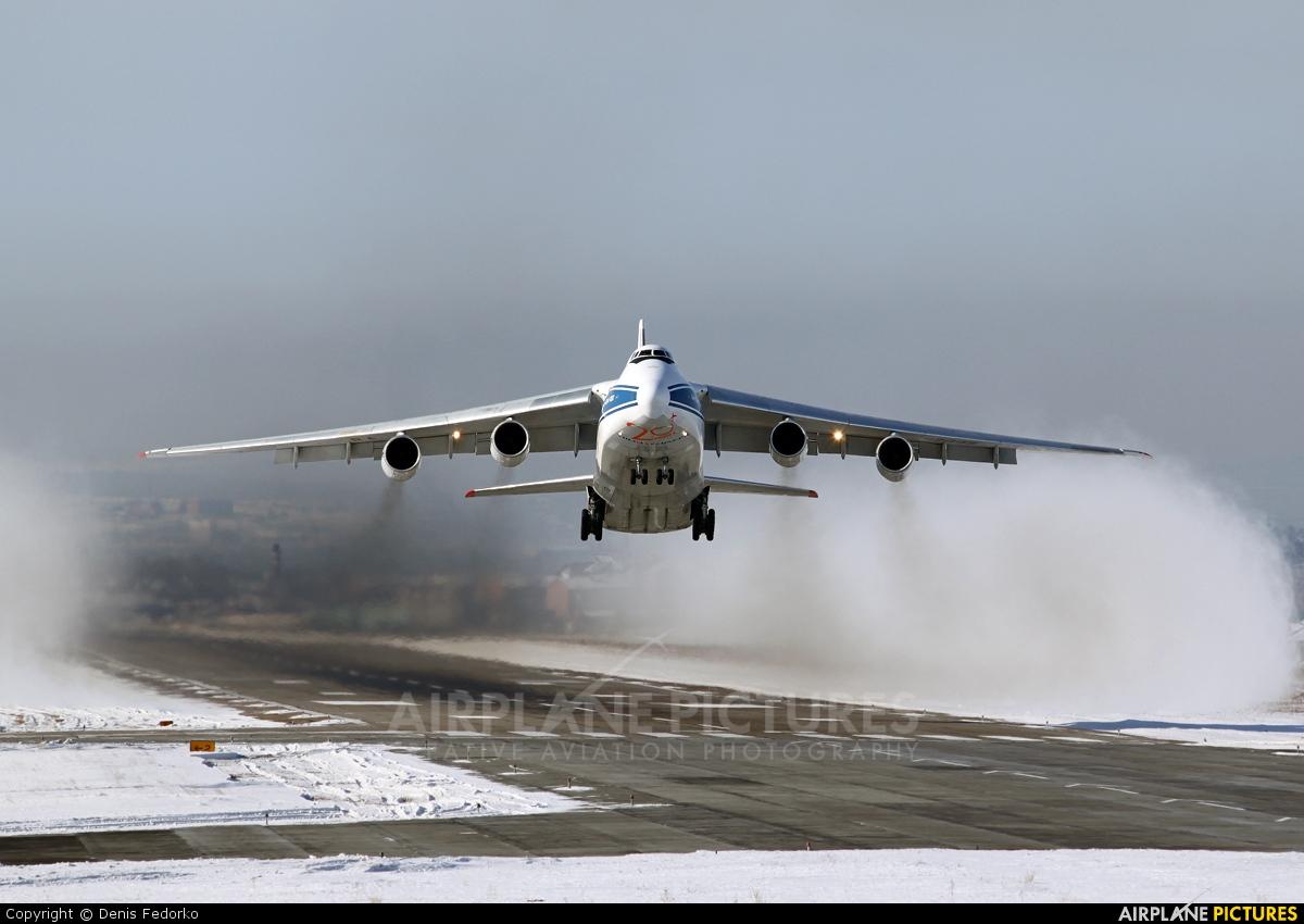 Volga Dnepr Airlines RA-82045 aircraft at Irkutsk