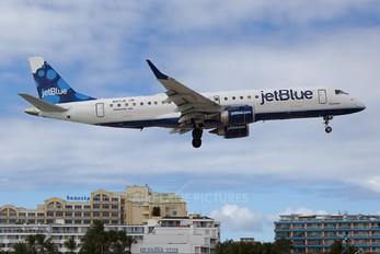 N317JB - JetBlue Airways Embraer ERJ-190 (190-100)