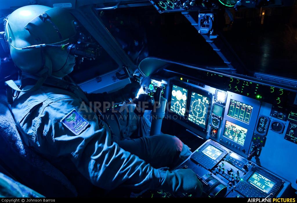 Brazil - Air Force 2800 aircraft at Manaus - Ponta Pelada