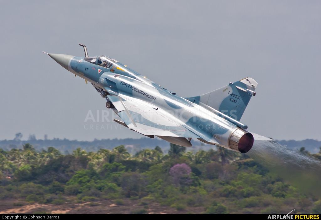 Brazil - Air Force 4947 aircraft at Natal - Augusto Severo