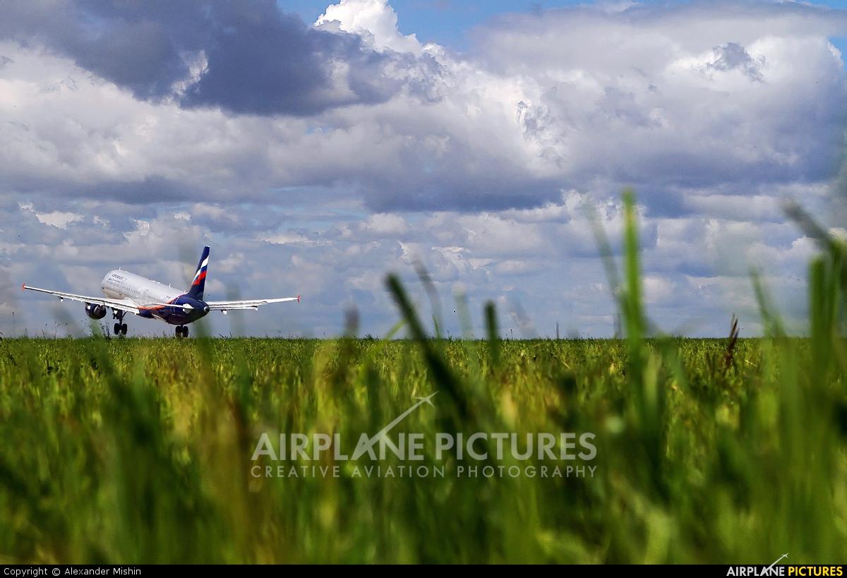 Aeroflot VP-BQS aircraft at Moscow - Sheremetyevo