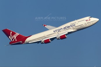 G-VHOT - Virgin Atlantic Boeing 747-400