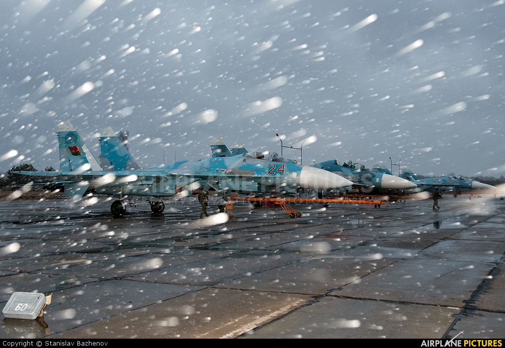Belarus - Air Force 24 aircraft at Undisclosed Location