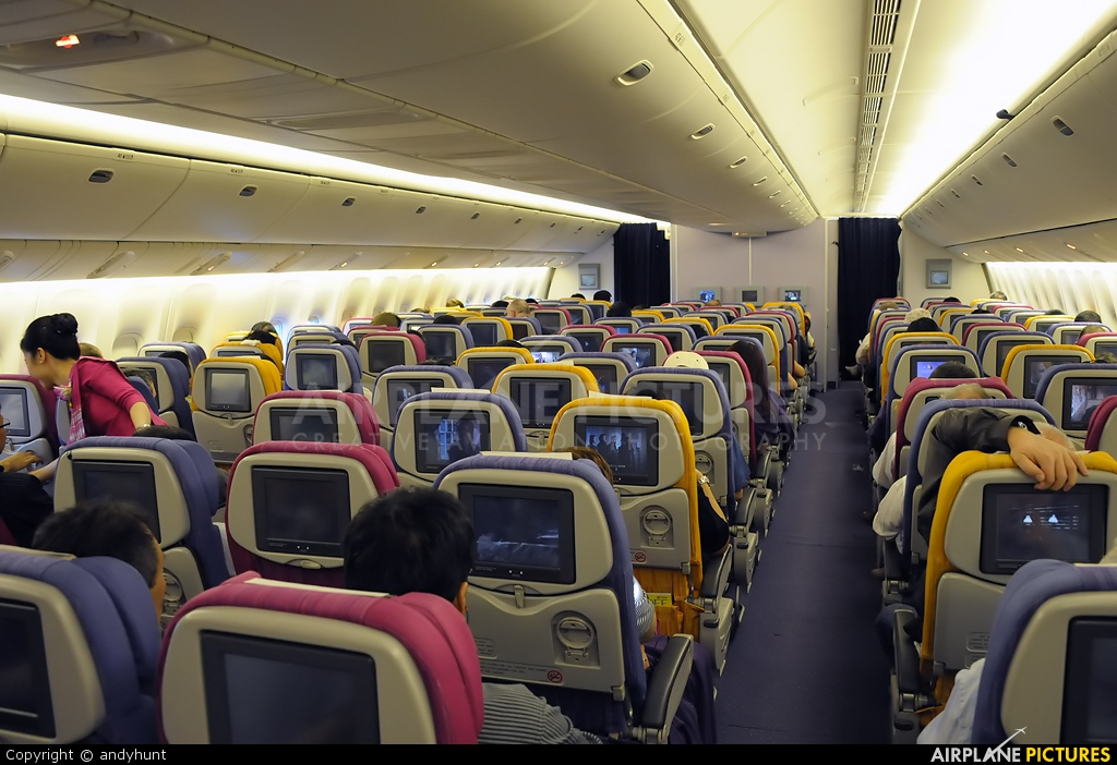 Thai Airways Boeing 777-300 Interior Thai Airways Boeing 777-300