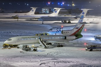 RA-85714 - Omskavia Tupolev Tu-154M