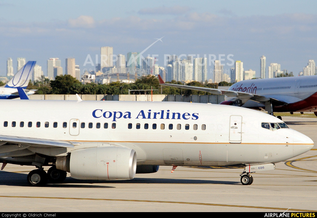 Copa Airlines HP-1528CMP aircraft at Miami Intl