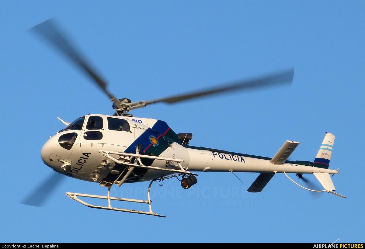 Argentina - Police LQ-BIO aircraft at Santa Teresita