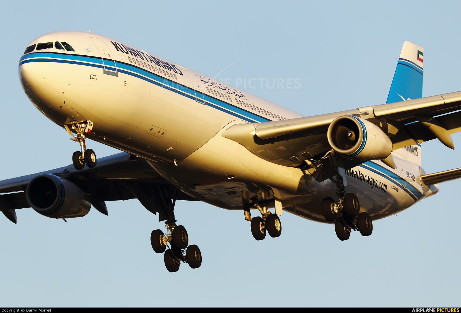 Kuwait Airways 9K-ANB aircraft at London - Heathrow