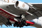 A6-EDJ - Emirates Airlines Airbus A380 aircraft