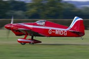 G-MIDG - Private Midget Mustang aircraft